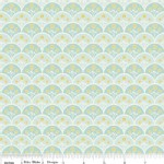 Riley Blake Designs - Marguerite - Scallops in Blue