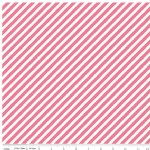 Riley Blake Designs - On Trend - Stripe in Raspberry