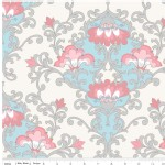 Riley Blake Designs - Priscilla - Damask in Blue