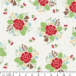 Riley Blake Designs - Sew Cherry - Main in White