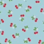 Riley Blake Designs - Sew Cherry - Cherries in Blue