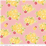 Riley Blake Designs - Sidewalks - Floral in Pink