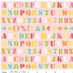 Riley Blake Designs - Simply Sweet - Alphabets in Pink
