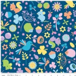 Riley Blake Designs - Wildflower Meadow - Wildflower Main in Blue