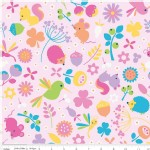 Riley Blake Designs - Wildflower Meadow - Wildflower Main in Pink