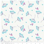 Riley Blake Designs - Wildflower Meadow - Birds in White