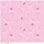 Riley Blake Designs - Wildflower Meadow - Birds in Pink