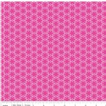 Riley Blake Designs - Wildflower Meadow - Flower in Hot Pink