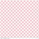 Riley Blake Designs - Wonderland - Gingham in White