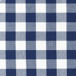 Robert Kaufman Fabrics - Basics - Carolina Gingham 1 inch in Navy
