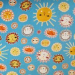 Robert Kaufman Fabrics - RK Kids - Little Senoritas - Sunny in Aqua