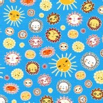 Robert Kaufman Fabrics - RK Kids - Little Senoritas - Sunny in Blue