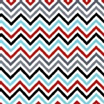 Robert Kaufman Fabrics - Remix - Chevron in CELEBRATION