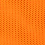 Robert Kaufman Fabrics - Spot On - Mini Dots in Orange