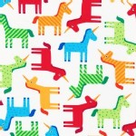 Robert Kaufman Fabrics - Wonder - Unicorns in Bright