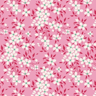 Tilda Fabrics - Apple Butter - Peggy in Pink