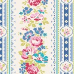 Tilda Fabrics - Apple Butter - Billy Jo in Blue
