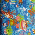 Trans Pacific Textiles - TPT - Mermaid Paradise in Blue
