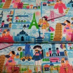 Trans Pacific Textiles - TPT - Wonderlust in Blue