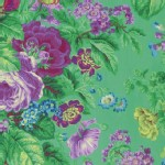 Westminster Fibers - Spring Floral - Floral Delight in Green