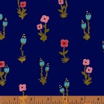 Windham Fabrics - Meriwether - Folk Fleur in Nightfall