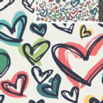 Art Gallery Fabrics - AGF Collection - Happy Home - Where the Heart Is in Pure