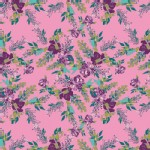 Art Gallery Fabrics - AGF Collection - Virtuosa - Episodic Blooms in Rosa