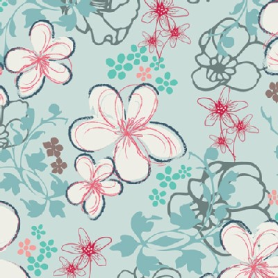 Art Gallery Fabrics - NouvElle - Twirls in Air