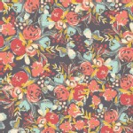 Art Gallery Fabrics - Rayon - Wild Bloom - Flowerfield in Sunset
