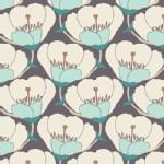 Art Gallery Fabrics - Winged - Nesting Blooms in Cool