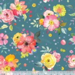 Blend Fabrics - Chelsea Market - Yorkshire Blooms in Blue