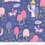 Moda Fabrics - Kids - Once Upon A Time - Main in Perwinkle