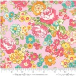 Moda Fabrics - Lawns - Regent Street 2018 - Floral Chelsea in Light Pink