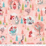 Riley Blake Designs - Little Red In the Woods - Main in Pink